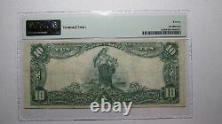$10 1902 Granbury Texas TX National Currency Bank Note Bill! Ch. #3727 VF20 PMG
