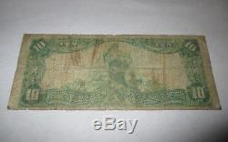 $10 1902 Iowa Falls Iowa IA National Currency Bank Note Bill! Ch. #3871 RARE