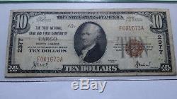 $10 1929 Fargo North Dakota ND National Currency Bank Note Bill Ch. #2377 PCGS