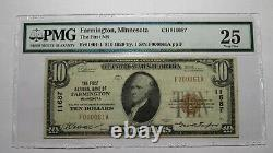 $10 1929 Farmington Minnesota MN National Currency Bank Note Bill #11687 VF PMG