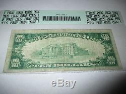 $10 1929 Grand Forks North Dakota ND National Currency Bank Note Bill Ch 2570 VF