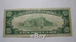 $10 1929 Guntersville Alabama AL National Currency Bank Note Bill Ch. #10990 VF+