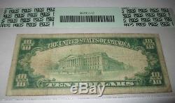 $10 1929 Hampton Iowa IA National Currency Bank Note Bill! Ch. #7843 FINE! PCGS
