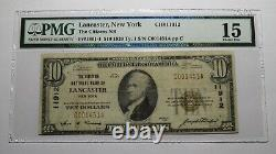 $10 1929 Lancaster New York NY National Currency Bank Note Bill Ch. #11912 F15