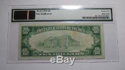 $10 1929 Manasquan New Jersey NJ National Currency Bank Note Bill Ch. #9213 VF