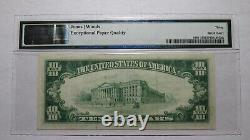 $10 1929 Marcellus New York NY National Currency Bank Note Bill! Ch. #9869 VF30