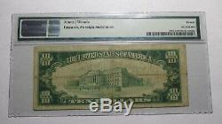 $10 1929 Ontario California CA National Currency Bank Note Bill Ch. #6268 VF20