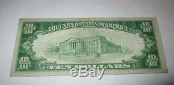 $10 1929 Penn's Grove New Jersey NJ National Currency Bank Note Bill #860 Penns