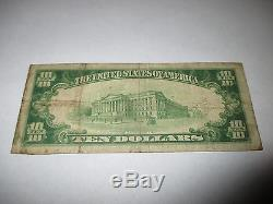$10 1929 Prairie City Iowa IA National Currency Bank Note Bill! Ch. #6755 Fine