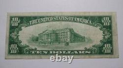 $10 1929 Rural Retreat Virginia VA National Currency Bank Note Bill #10061 VF++