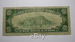 $10 1929 Souderton Pennsylvania PA National Currency Bank Note Bill! #13251 FINE