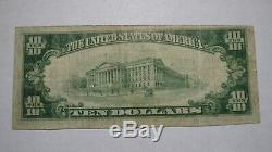 $10 1929 West Concord Minnesota MN National Currency Bank Note Bill Ch #5362 VF