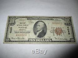 $10 1929 Wisner Nebraska NE National Currency Bank Note Bill! Ch. #4029 FINE