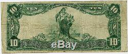 $10 Montgomery County National Bank of Rockville Maryland VF, National Currency