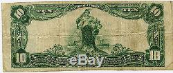$10 Peoples National Bank of Brunswick Maryland VF, National Currency