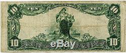 $10 Towson National Bank of Maryland VF, National Currency
