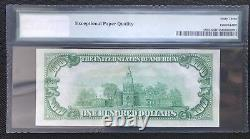$100 Series 1929 National Currency / Fed Res Bank Of Chicago/ Pmg 63 Epq