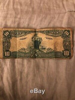 17th MOST RARE National Currency Bank Note Citizens National Bank Of Anderson SC