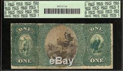 1875 $1 Dollar National Eagle Bank Note Boston Large Currency Paper Money Pcgs