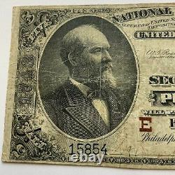 1890 Penn $5 National Currency THE NATIONAL SECURITY BANK OF PHILADELPHIA