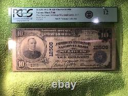 1902 $10 National Currency Bank Note From The Eric P Newman Collection Pcgsf12
