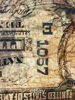 1902 $10 Ten Dollars Exchange National Bank Of Pittsburgh Pa Currency Note