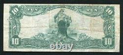 1902 $10 The First National Bank Of Batesville, Ar National Currency Ch. #7556