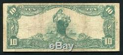 1902 $10 The National Exchange Bank Of Augusta, Ga National Currency Ch. #1860