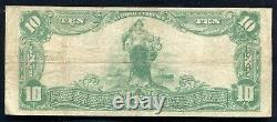 1902 $10 The National Park Bank Of New York, Ny National Currency Ch. #891