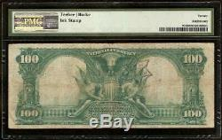 1902 $100 Dollar Peoria IL National Bank Note Large Currency Old Paper Money Pmg