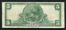 1902 $5 The Denver National Bank Of Denver, Co National Currency Ch. #3269
