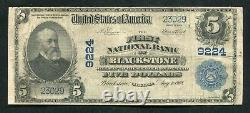 1902 $5 The First National Bank Of Blackstone, Va National Currency Ch. #9224