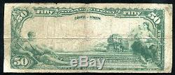 1902 $50 The Joplin National Bank Of Joplin, Mo National Currency Ch. #4425