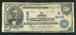 1902 $50 The Joplin National Bank Of Missouri National Currency Ch. #4425