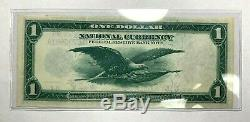 1918 $1 National Currency Federal Reserve Bank Chicago FR-727 Nice XF Condition