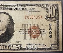 1929 $10.00 Nat'l Currency, The City National Bank of Council Bluffs, Iowa