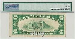 1929 $10 DALLAS Texas TX Federal Reserve Bank Note Brown National Currency KEY
