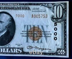 1929 $10 First National Bank Of Wilmerding Pennsylvania National Currency Type 2