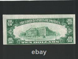1929 $10 National Currency Error, Colorado National Bank, Denver, Ch. 1651