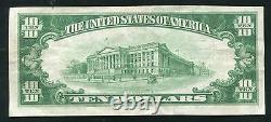 1929 $10 The First National Bank Of Nashwauk, Mn National Currency Ch. #10736
