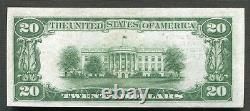 1929 $20 Bank Of America San Francisco, Ca National Currency Ch #13044 Gem Unc