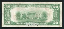 1929 $20 Dallas National Bank Dallas, Tx National Currency Ch. #11749