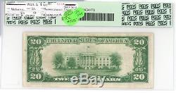 1929 $20 National Bank Murphysboro Illinois 4804 PCGS 30 Type 2 Currency JY544