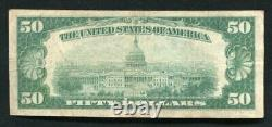 1929 $50 The Northern National Bank Of Duluth, Mn National Currency Ch. #9327