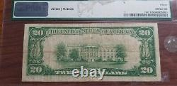 1929 First National Bank of Coon Rapids Iowa $20 Note National Currency #5514