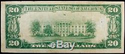 1929 Series O'neill National Bank Nebraska Currency Note #5770 Very Fine + (231)