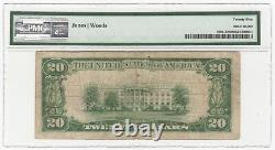 1929 U. S. Safety Fund National Bank Fitchburg, MA Currency Note T1 PMG VF 25