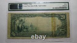 $20 1902 Birdseye Indiana IN National Currency Bank Note Bill Ch. #8835 PMG