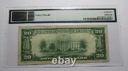 $20 1929 Clinton Iowa IA National Currency Bank Note Bill Ch. #2469 VF25 PMG