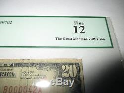 $20 1929 Lawrenceville Pennsylvania PA National Currency Bank Note Bill! #9702